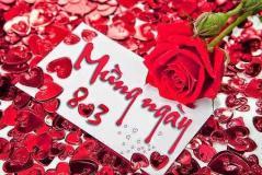 Chào Mừng Ngày Quốc Tế Phụ Nữ 8/3/2017
